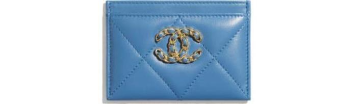유럽직배송 샤넬 CHANEL CHANEL 19 Card Holder AP1167B04852NB355