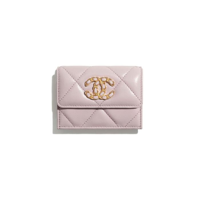 유럽직배송 샤넬 CHANEL CHANEL 19 Small Flap Wallet AP1789B04852NC022