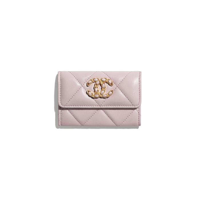 유럽직배송 샤넬 CHANEL CHANEL 19 Flap Card Holder AP1790B04852NC022